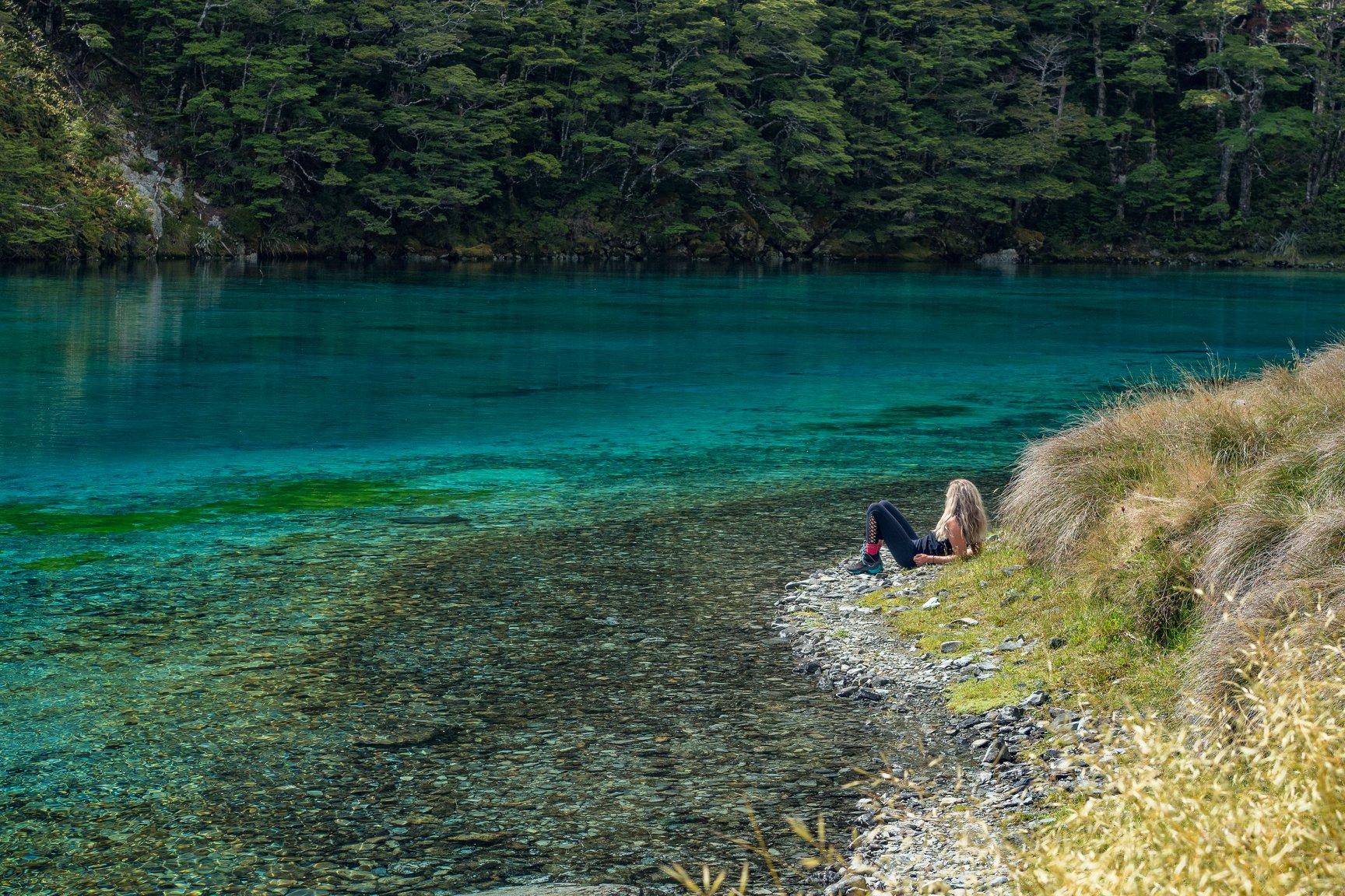 blue lake nz north island